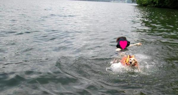 初泳ぎ15