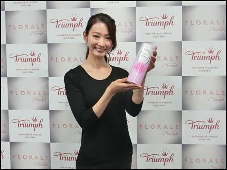 国内初、化粧品扱いの下着発売 トリンプno1