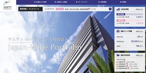 サムティ・レジデンシャル投資法人(3459)分配金