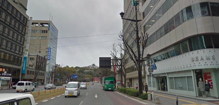 市街地熊本城2016年7月14日