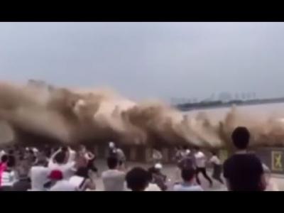 【衝撃!】中国の銭塘江(せんとうこう)って川だよね?