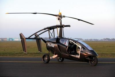 【その他】ヘリコプターに変身する三輪バイクがカッコイイ!