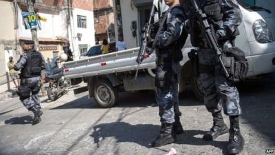 【衝撃!】ブラジル・サンパウロで起きた警察官殺害の生々しい映像!(観覧注意!)
