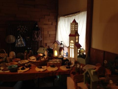 木工作品と雑貨