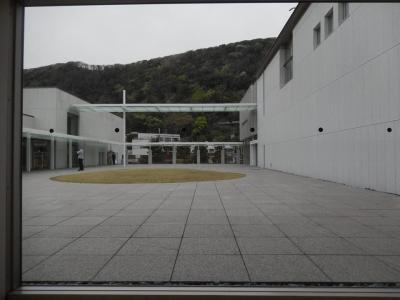 葉山館 中庭