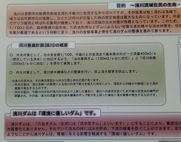 浅川ダム湛水 (4)