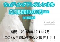 ドレス10000円