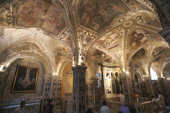 20160915 Amalfy Duomo inside 21cm DSC00527