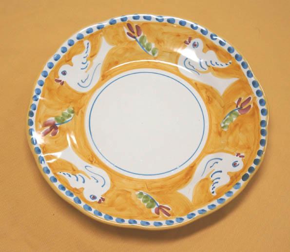 20160921 pasta plate bird 21cm DSC06703