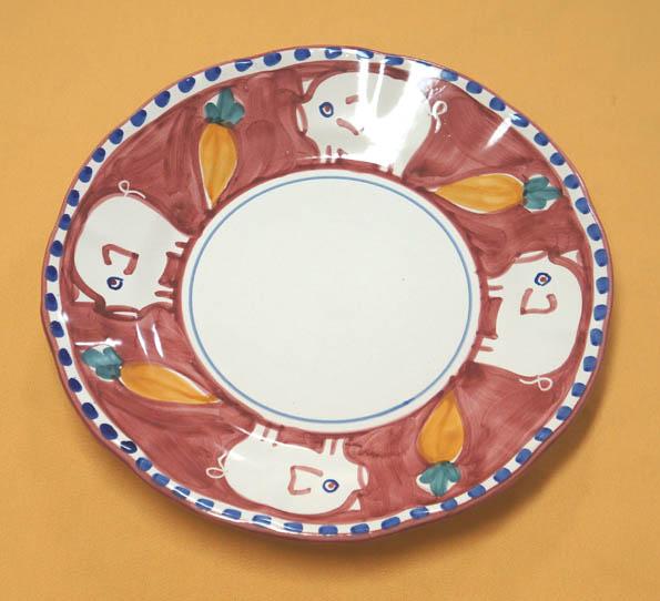 20160921 pasta plate pig 21cm DSC06697