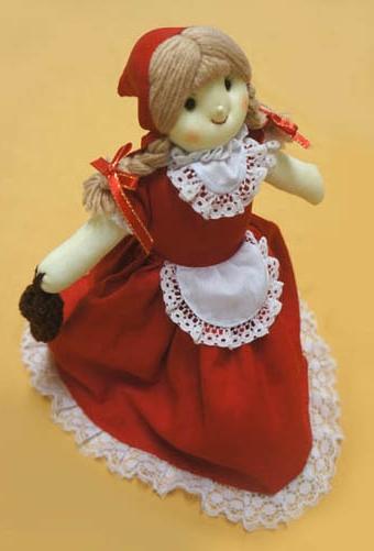 20160921 赤ずきん人形 13㎝ DSC06720