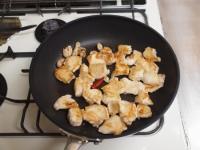 鶏むね肉と筍のオイスターソーt42