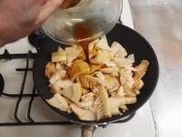 鶏むね肉と筍のオイスターソーt43