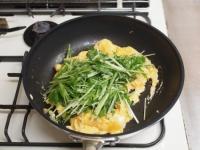 水菜の明太たまごとじt38