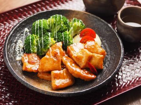鶏むね肉のさっぱり甘酢炒めt12