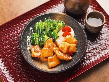 鶏むね肉のさっぱり甘酢炒めt17