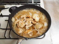 アマランサス入り鶏の南蛮煮t52
