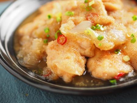 アマランサス入り鶏の南蛮煮t16