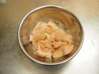 鶏むね肉の酢豚風t11