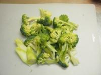 ブロッコリーの豚キムチ炒めt01