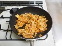 ブロッコリーの豚キムチ炒めt06