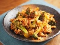 ブロッコリーの豚キムチ炒めt16