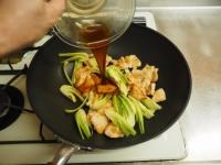 鶏むね肉と青梗菜の香味炒t17