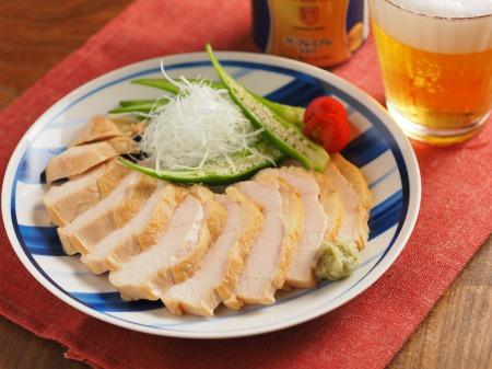 麺つゆ鶏むね肉鴨ロース風t25