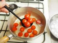 トマトの冷製パスタt10