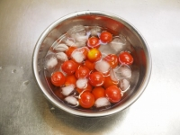 トマトの冷製パスタt12