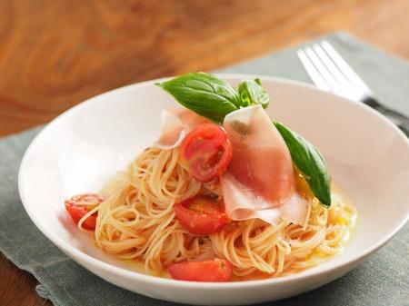 トマトの冷製パスタt44
