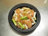 鶏むね肉のキムチ焼きt07