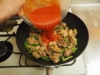 鶏肉のガリマヨトマト煮t18