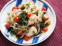 鶏むね肉水晶の海藻サラダ風t22
