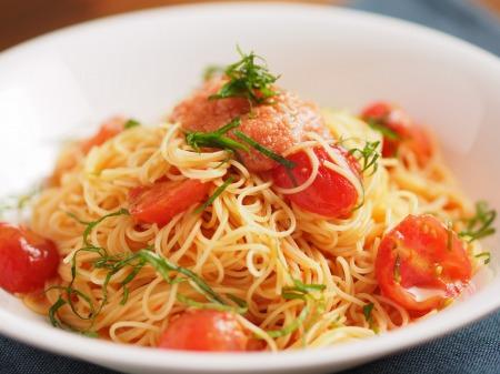 辛子めんたいとトマトの冷製パt14