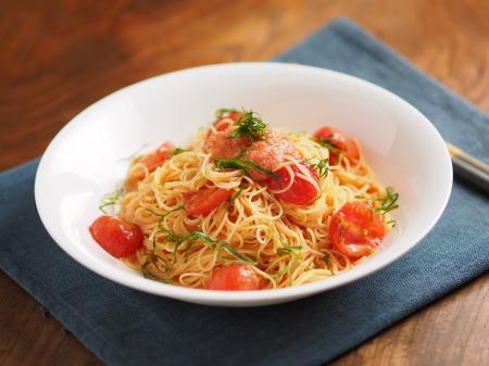 辛子めんたいとトマトの冷製パt22