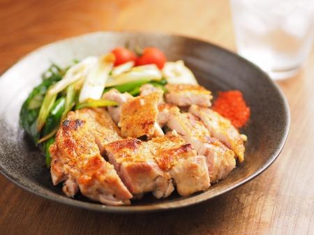 鶏もも肉と大ねぎの旨塩焼きt18