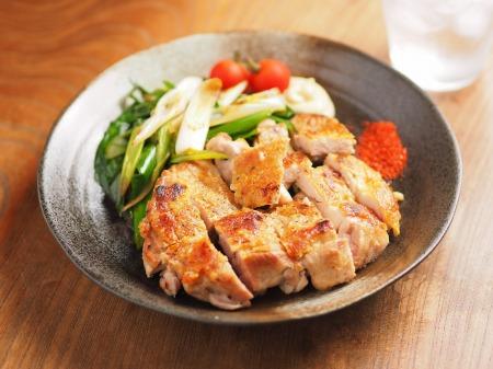 鶏もも肉と大ねぎの旨塩焼きt19