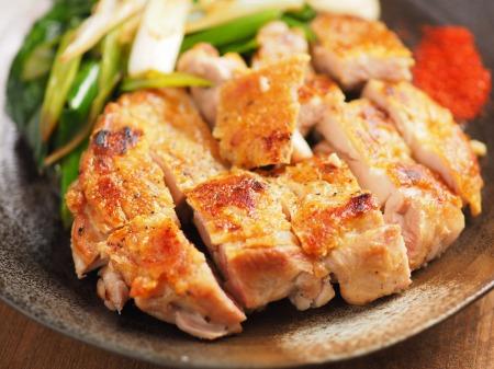 鶏もも肉と大ねぎの旨塩焼きt21