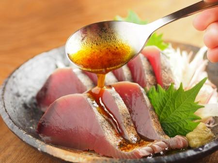 かつお炙りのオリーブオイルぽんt43