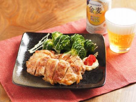 鶏もも肉の明太マヨネーズ焼t16