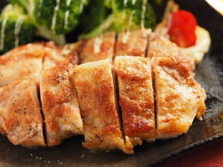 鶏もも肉の明太マヨネーズ焼t43