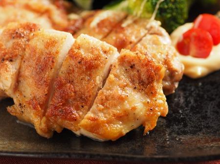 鶏もも肉の明太マヨネーズ焼t26