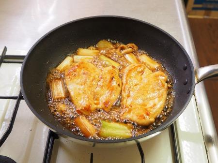 鶏むね肉の香味照り焼きt15