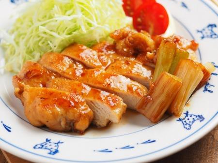 鶏むね肉の香味照り焼きt28