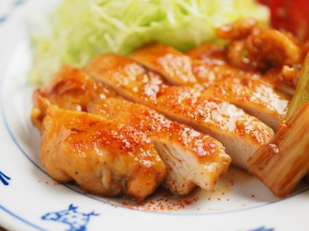 鶏むね肉の香味照り焼きt74