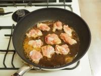 鶏ももと玉ねぎのすき焼き煮09