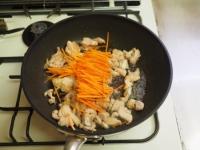 鶏肉とオクラのひじき煮16