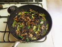鶏肉とオクラのひじき煮23