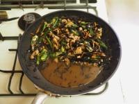 鶏肉とオクラのひじき煮24